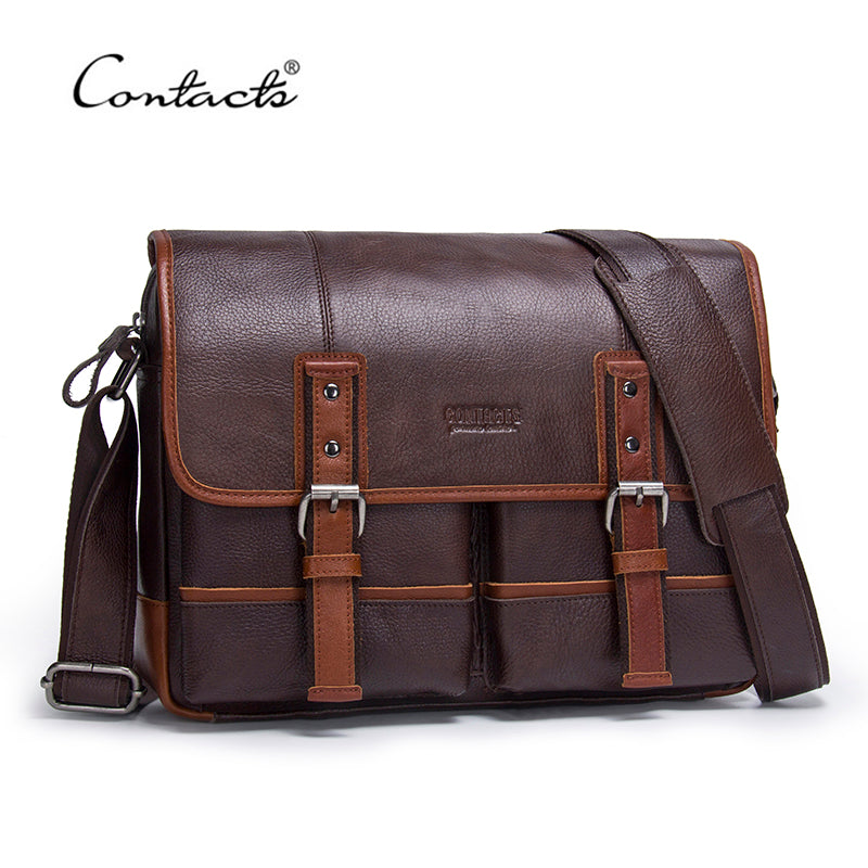 Men's Luxury Leather Business Bag