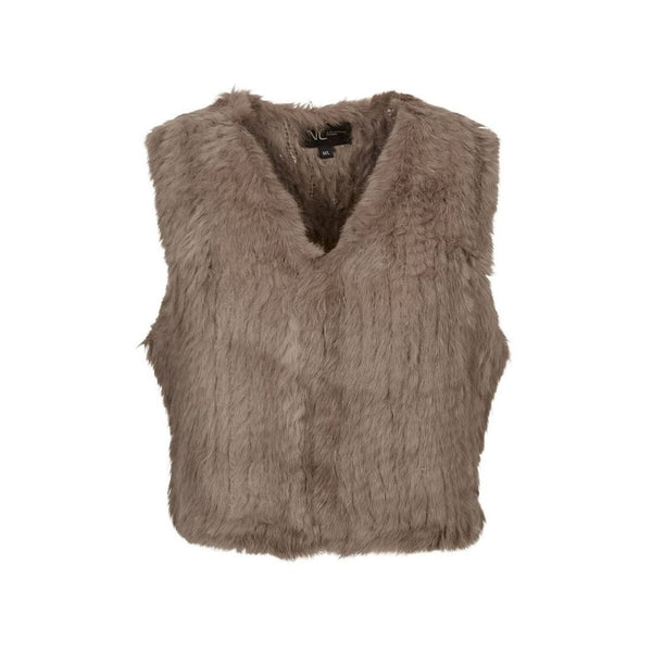 NC Fashion Amanda Vests Taupe
