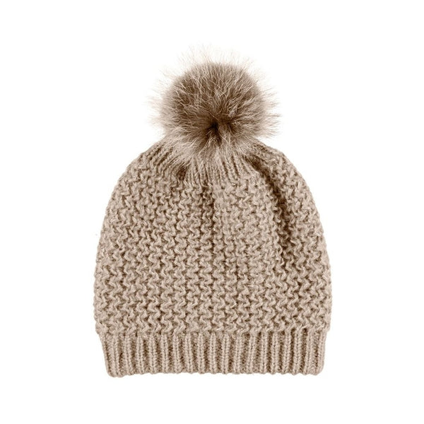 NC Fashion Beate Beanies Sand
