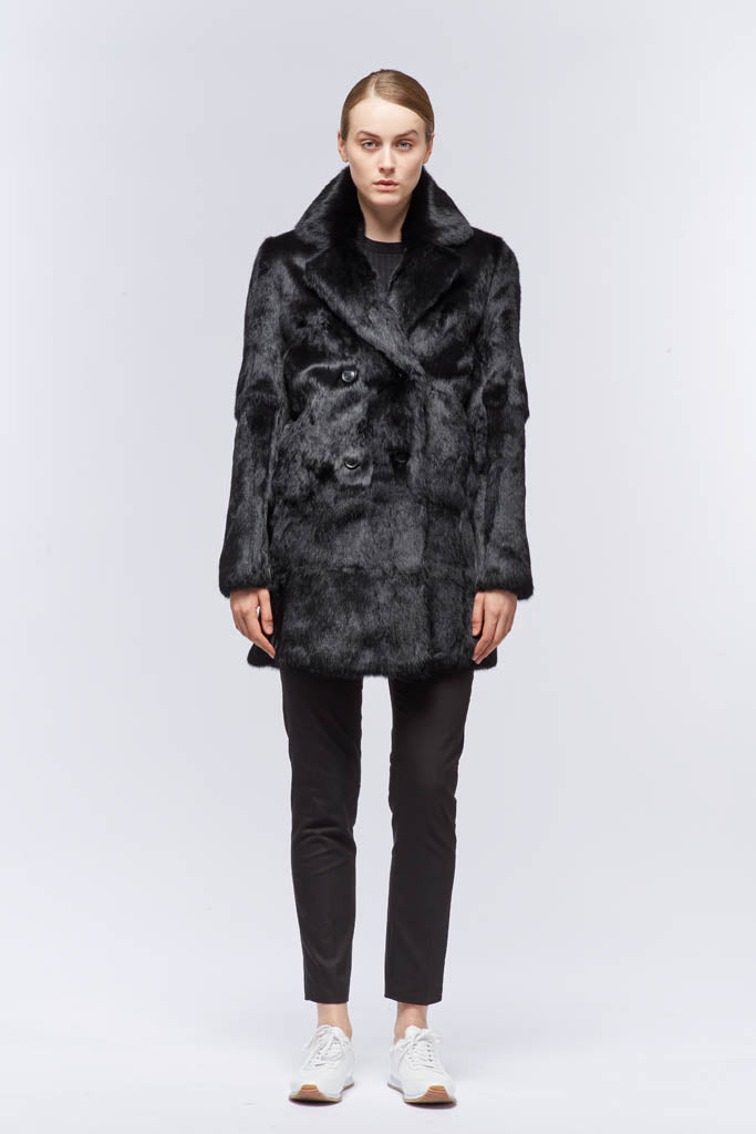 NC Fashion Chrystal Coats Sort