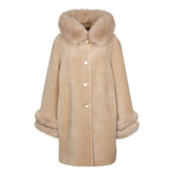 NC Fashion Elvira Coats Beige