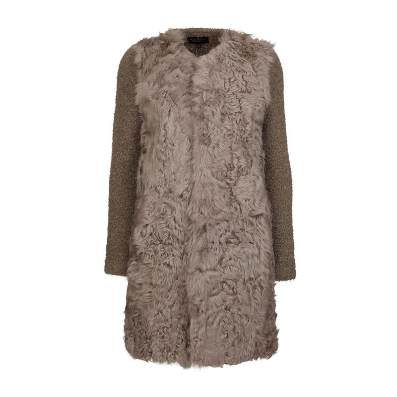 NC Fashion Joy Coats Taupe