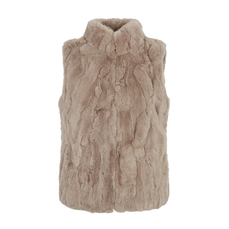 NC Fashion Katy Vests Simple Taupe