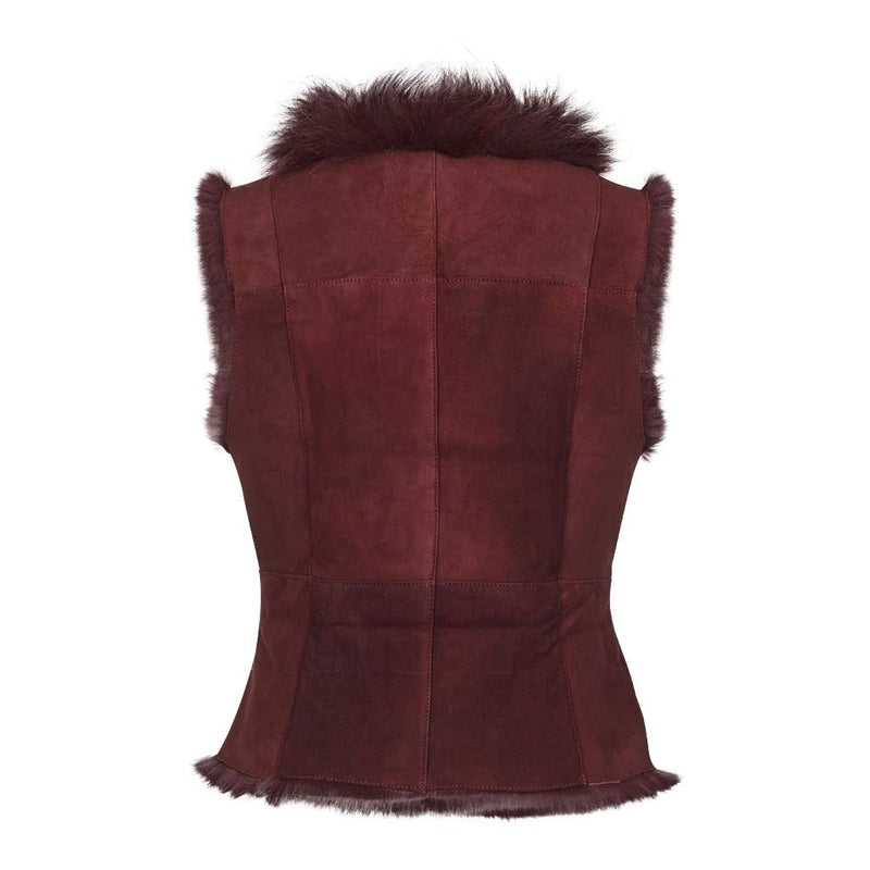 NC Fashion Mia Vests Bordeaux