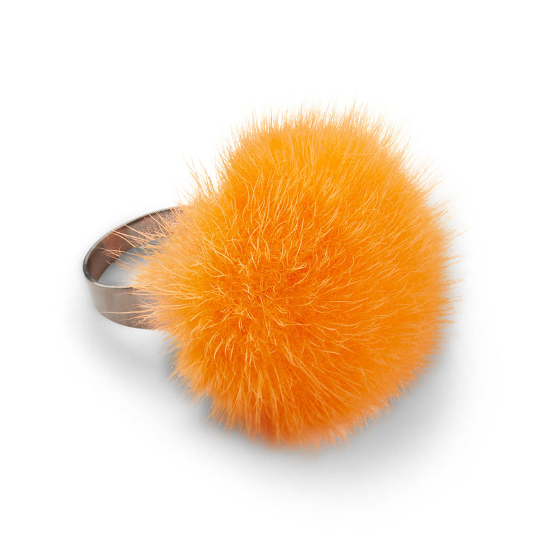 NC Fashion Mink ring Rings Orange