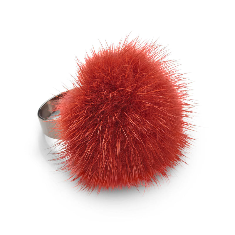 NC Fashion Mink ring Rings Rustorange