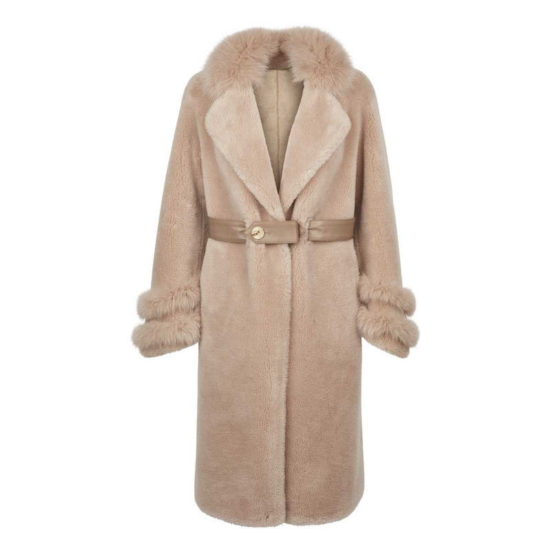 NC Fashion Molin Coats Beige
