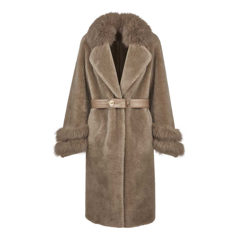 NC Fashion Molin Coats Taupe
