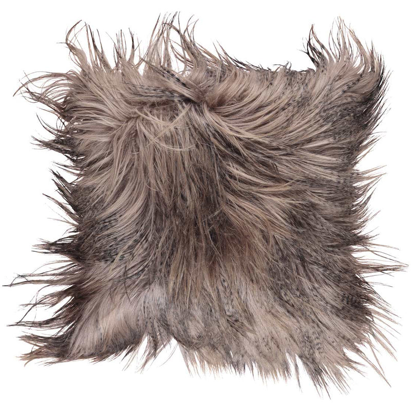 NC Living Mongolian Goatskin cushion | 50x50 cm Cushions Dusty Taupe