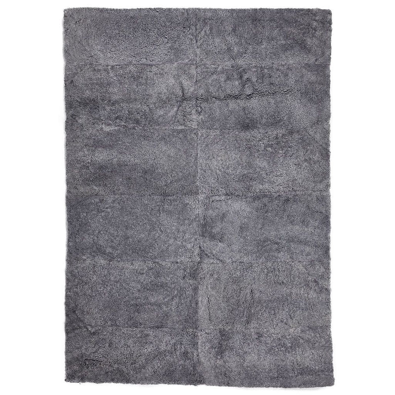 NC Living New Zealand Design Rug - ShortWool Curly | 200x300 cm. Design Rugs Lysegrå
