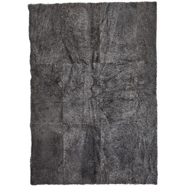 NC Living New Zealand Design Rug - ShortWool Curly | 250x350 cm. Design Rugs Grå