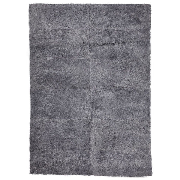 NC Living New Zealand Design Rug - ShortWool Curly | 250x350 cm. Design Rugs Lysegrå