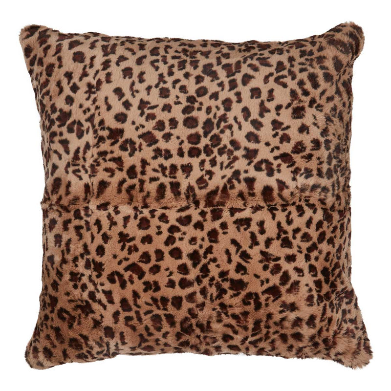 NC Living Pelspude | Kanin & Cashmere | 60x60 cm. Cushions Leopard mønster