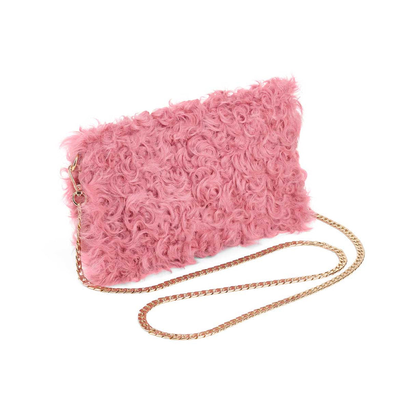 NC Fashion Shelly Clutches Pink