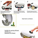 Automatic Jar Opener for All Jar Sizes