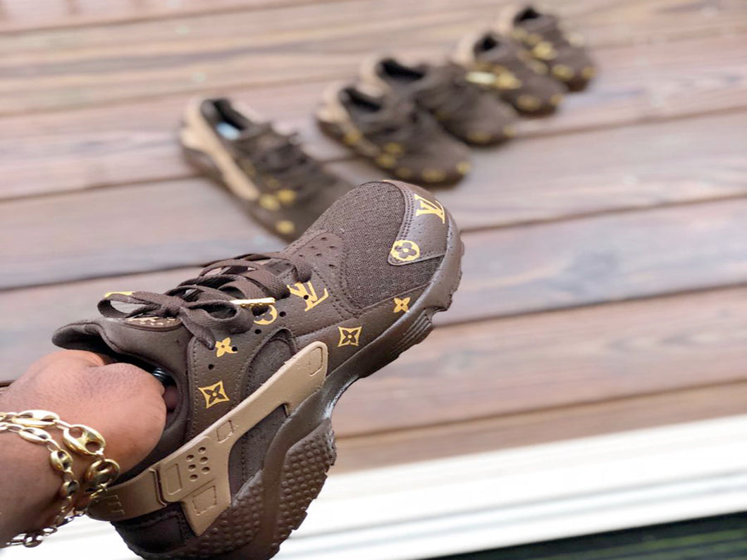 Custom Louis Vuitton  Huaraches - Kiaun's Customs