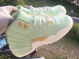 Custom retro Jordan Green 12s