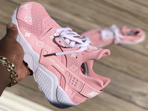 Custom Pink IV Huaraches