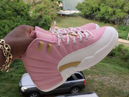 Custom Pink and White Retro - Kiaun's Customs
