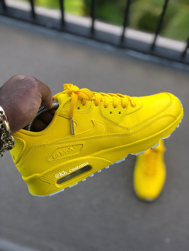 Custom Lemon Airmax 90 - Kiaun's Customs