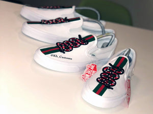 Custom Gucci Vans - Kiaun's Customs