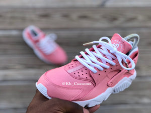Customs Petal Pink Huaraches - Kiaun's Customs