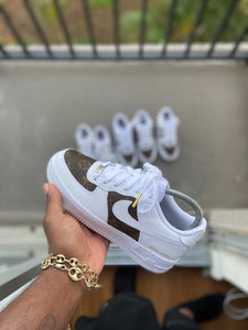 Custom LV Air force 1s - Kiaun's Customs