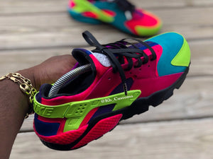 "Custom Exclusive ""What are those"" Huaraches - Kiaun's Customs"