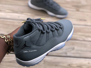 Custom retro Jordan Moonrock 11s - Kiaun's Customs