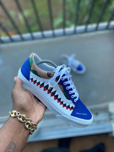 Custom Camo Bape Vans - Kiaun's Customs
