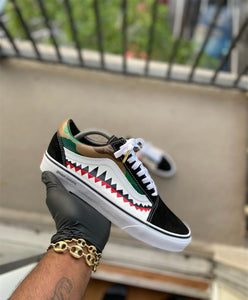 Custom Bape Vans - Kiaun's Customs