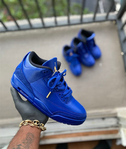 Custom Retro 3 Jordan Royal Blue - Kiaun's Customs