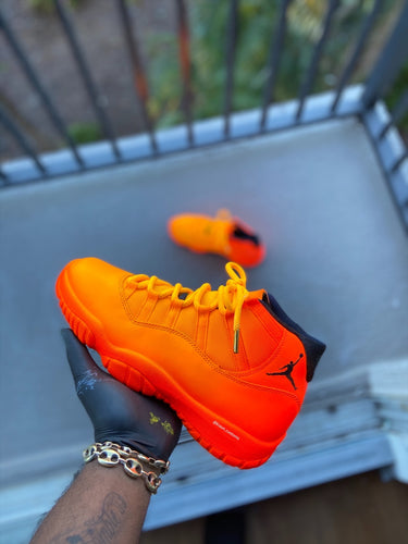 Custom  retro Jordan sunset 11s - Kiaun's Customs