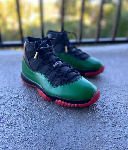 Custom retro Jordan Gucci  11s - Kiaun's Customs