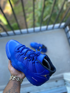 Custom retro Jordan Royal Blue 11s - Kiaun's Customs