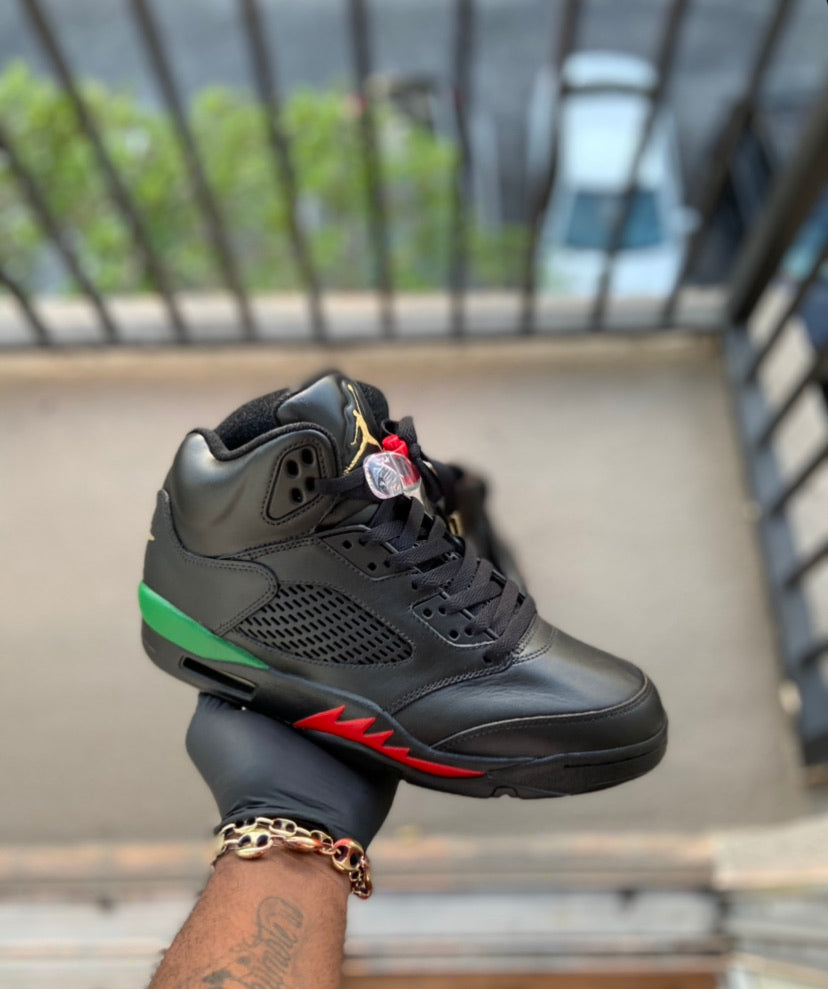 Custom retro Jordan Gucci 5s - Kiaun's Customs
