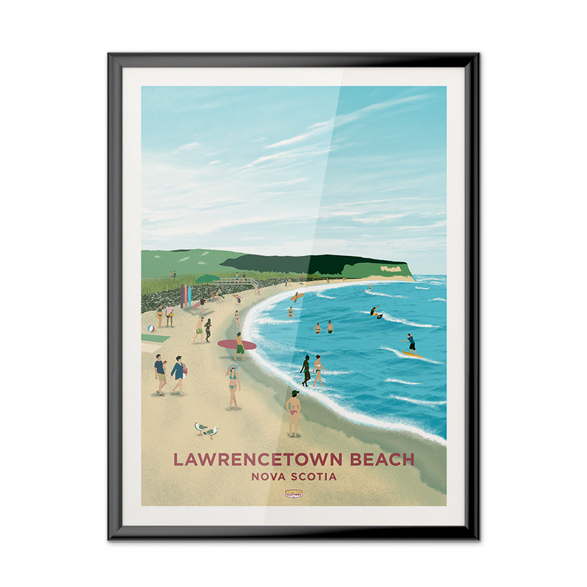Lawrencetown Beach Poster
