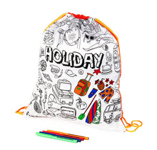Load image into Gallery viewer, Holiday Multi-Purpose Drawstring Bag