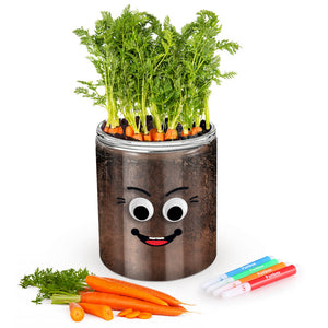Plant a Carrot in a Jar Kit