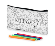 Load image into Gallery viewer, I Want You To Be Happy Pencil Case!