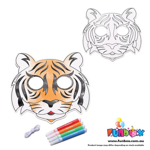 Colour in Tiger Mask