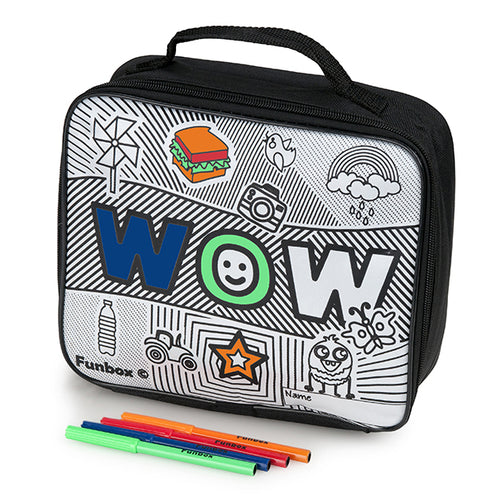 Colour Me In Wow Lunch Box