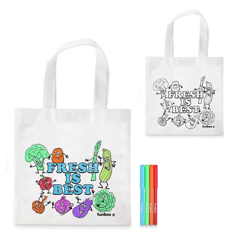 Fresh Is Best Tote Bag