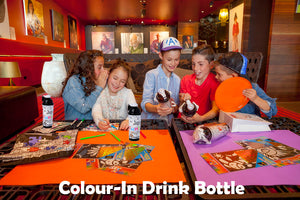 Kids Colour-Me-In Drink Bottle