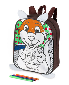 Colour Me In Kangaroo Backpack