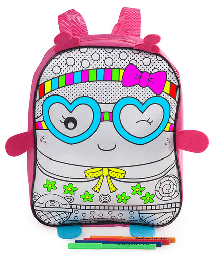 Sweetie Colour-In  Backpack