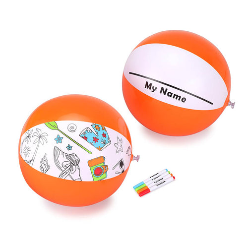 Make-It-Mine Beach Ball