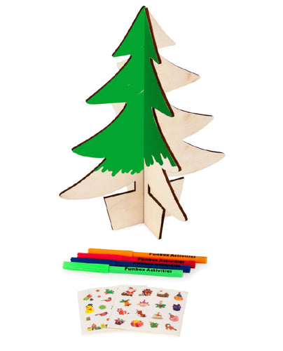 Colour-In Christmas Tree - Bulk Discounts Available