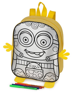 Smiley Colour-In Backpack - From $2.95