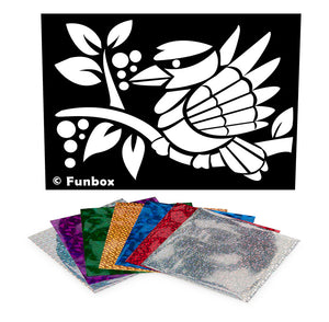 Kookaburra Foil Art Activity Pack